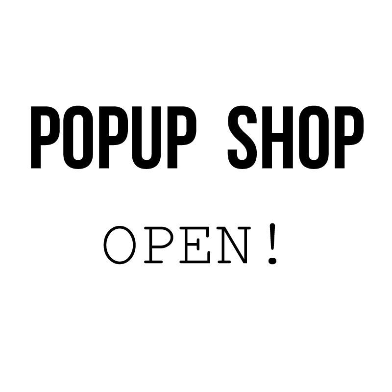 ハンプティーダンプティー前橋本店にてPOPUPを開催します